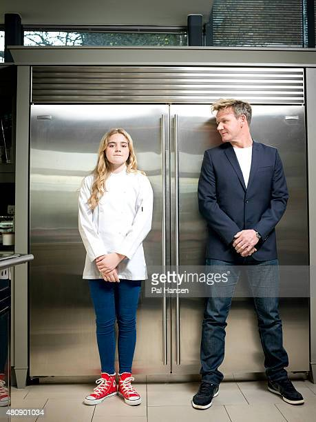 Chef Gordon Ramsay is photographed with his daughter Mathilda Ramsay for Event magazine on March 6 2015 in London England