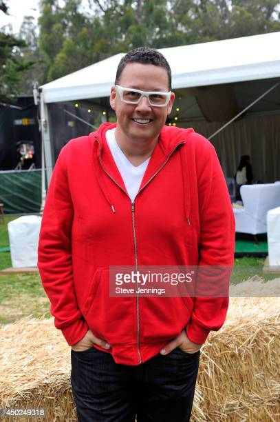 Chef Graham Elliot poses backstage during Chipotle's Cultivate San Francisco Food Music and Ideas Festival at Golden Gate Park on June 7 2014 in San...