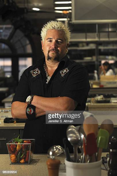 Chef Guy Fieri is photographed in New York for the Los Angeles Times