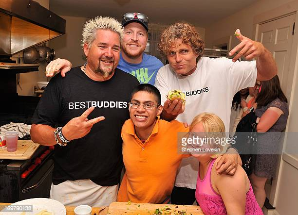 Chef Guy Fieri NFL Player Dan Koppen Michael Jaxtimer Barry Anthony Kennedy Shriver Founder and Chairman of Best Buddies International and Actress...