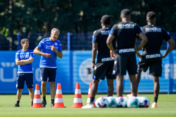 DEU: Arminia Bielefeld - Training Session