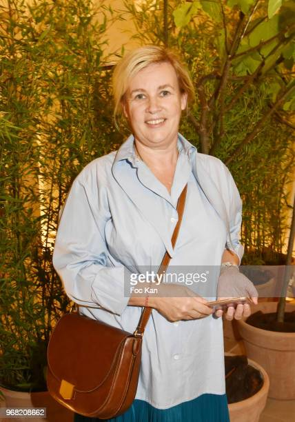 Chef Helene Darroze attends Marie Claire Nouvelle Air Cocktail at Hotel Lutetia on June 5 2018 in Paris France