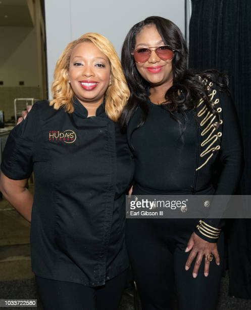Chef Huda and Traci Braxton attend the 48th Annual Congressional Black Caucus Foundaiton on September 15, 2018 in Washington, DC.