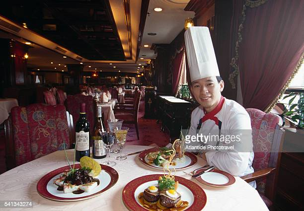 Chef in the A Galera Restaurant in Hotel Lisboa