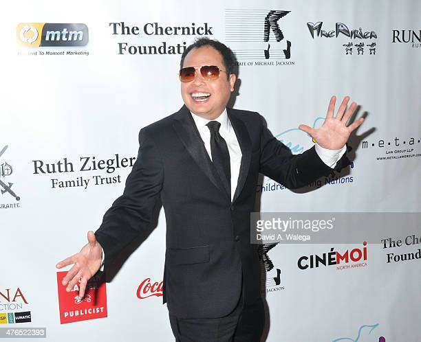 Chef Jack Lee arrives at the '15th Annual Academy Awards Viewing Party Benefiting Children Uniting Nations' at Warner Bros Estate on March 2 2014 in...