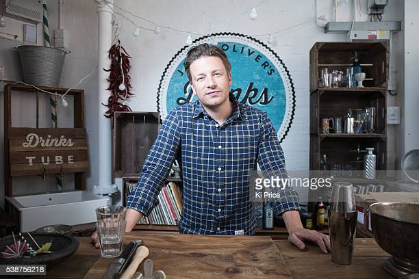 Chef Jamie Oliver is photographed for the South Morning China Post on June 30 2014 in London England