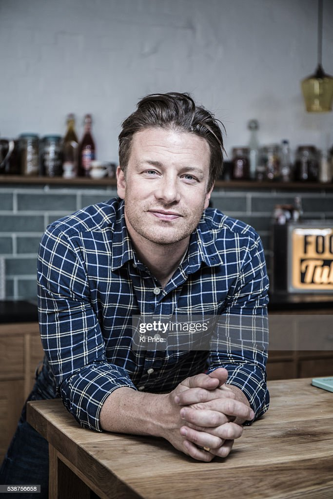 Chef Jamie Oliver is photographed for the South Morning China Post on June 30, 2014 in London, England.