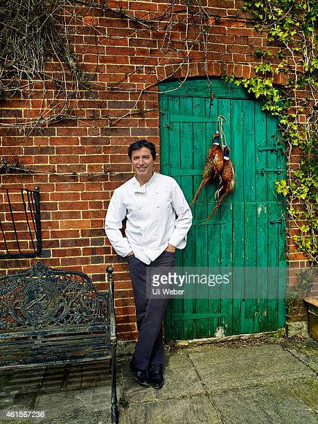 Chef JeanChristophe Novelli is photographed for Tatler on April 22 2013 in Tea Green England