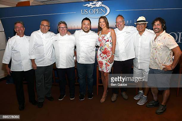 Chef Jim Abbey Chef Ed Brown Chef David Burke Author David Chang Journalist Hannah Storm Tony Mantuano Masaharu Morimoto and Ken Oringer attend...