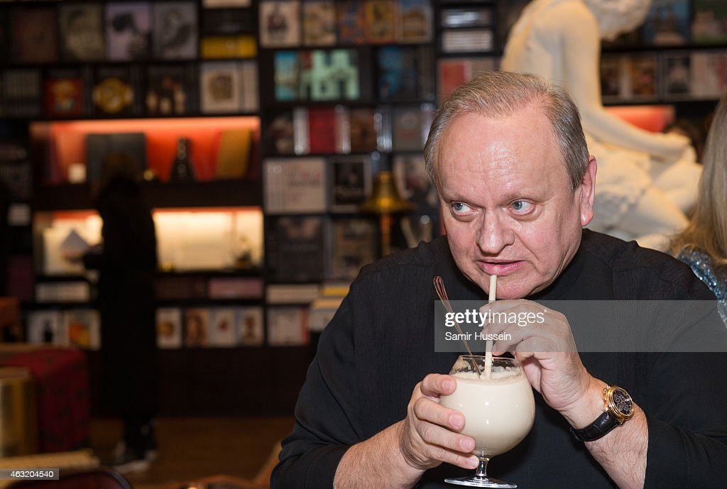 Food & Life Book Signing With Chef Joel Robuchon And Dr Nadia Volf At Maison Assouline In London : News Photo