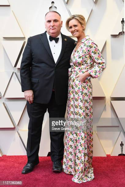 Chef José Andrés and Patricia Andres attends the 91st Annual Academy Awards at Hollywood and Highland on February 24 2019 in Hollywood California