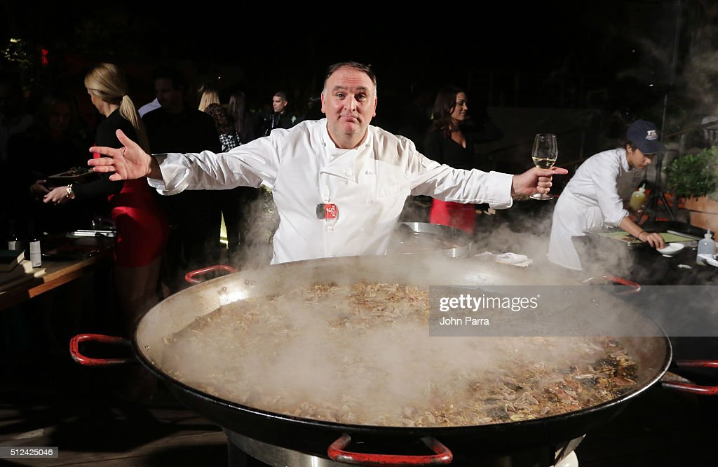 MasterCard Exclusive - Paella & Tapas by the Pool hosted by Jose Andres - 2016 Food Network & Cooking Channel South Beach Wine & Food Festival Presented By FOOD & WINE
