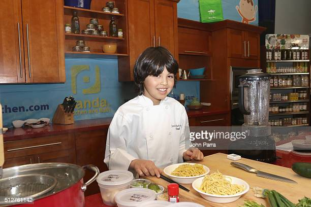 Chef Josh Reisner attends Badia Spices' Fun And Fit As A Family Sponsored By Carnival Geaturing Goya Foods Kidz Kitchen during 2016 Food Network...