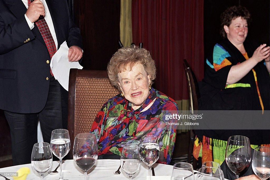 Julia Child 90th Birthday Celebration : News Photo