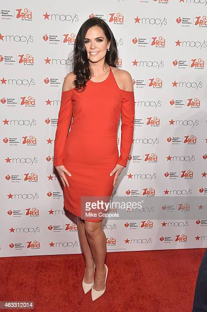 Chef Katie Lee Joel attends the Go Red For Women Red Dress Collection 2015 presented by Macy'sfashion show during MercedesBenz Fashion Week Fall...