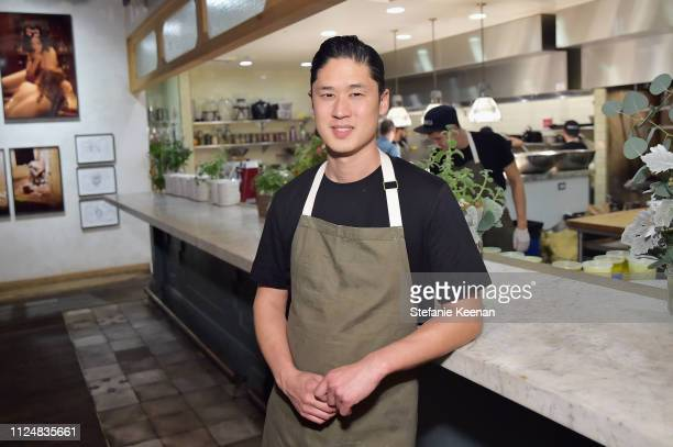 Chef Kris Tominaga attends Hauser Wirth Los Angeles Opening of Annie Leibovitz and Piero Manzoni and Musical Performance by Patti Smith at Hauser...