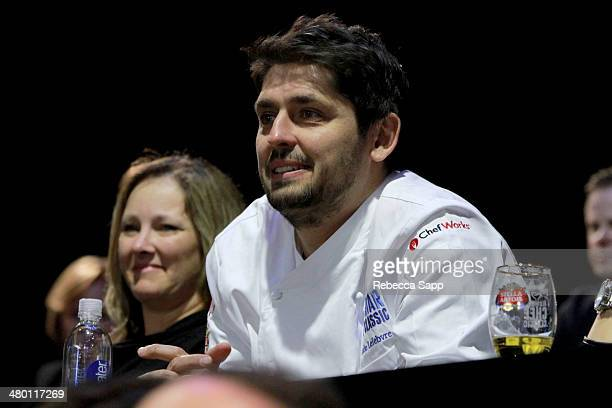 Chef Ludo Lefebvre at the AllStar Chef Classic Grill And Chill Presented By dineLA And Stella Artois at LA LIVE on March 22 2014 in Los Angeles...