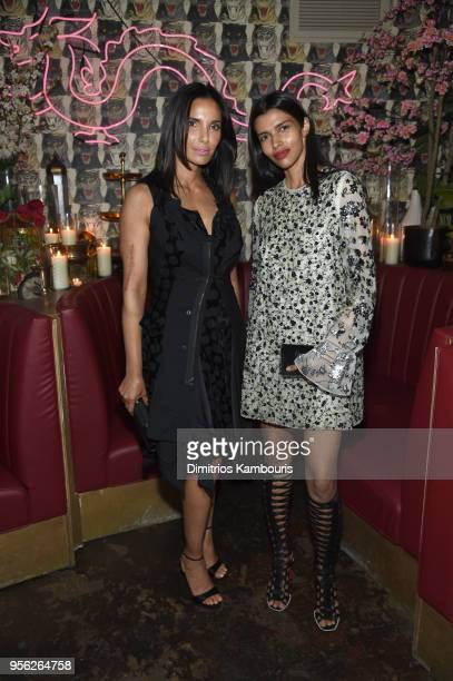 Chef MAC Spokesperson Padma Lakshmi and Model Pooja Mor attend an intimate dinner hosted by The Business of Fashion to celebrate its latest special...