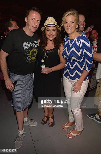 Chef Marc Murphy TV Personality Rachael Ray and recording artist Trisha Yearwood attend Amstel Light Burger Bash presented by Pat LaFrieda Meats...