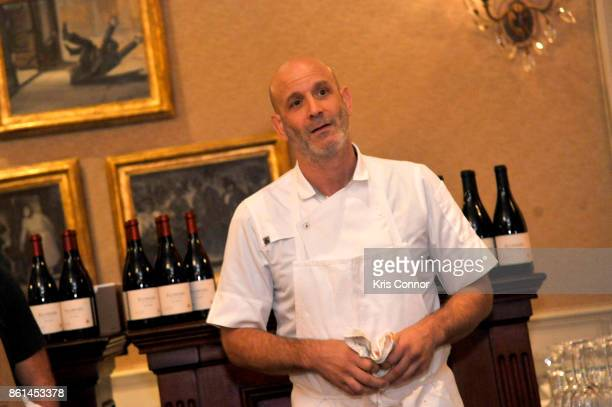 Chef Marc Vetri speaks during a Dinner with Paul Kahan and Marc Vetri part of the Bank of America Dinner Series presented by The Wall Street Journal...