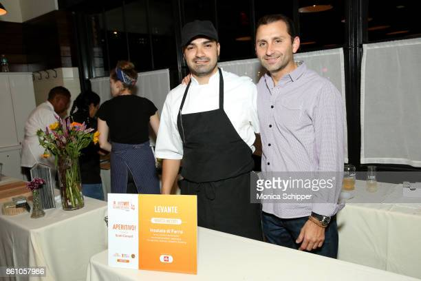 Chef Marco Incerti attends Aperitivo hosted by Scott Conant at The Standard High Line on October 13 2017 in New York City