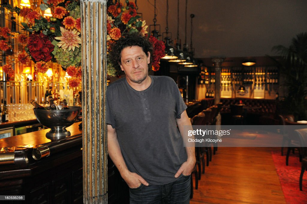 Marco Pierre White Opens His New Restaurant In Donnybrook : News Photo