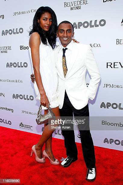 Chef Marcus Samuelsson and wife Maya Haile attend the 2011 Apollo Theater Spring Gala at The Apollo Theater on June 13 2011 in New York City