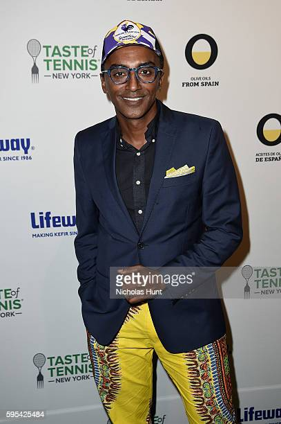 Chef Marcus Samuelsson attends Taste Of Tennis New York on August 25 2016 in New York City