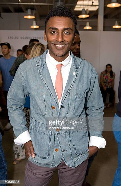 Chef Marcus Samuelsson attends the Apolis Summer speaking series kickoff event on June 18 2013 in Los Angeles California