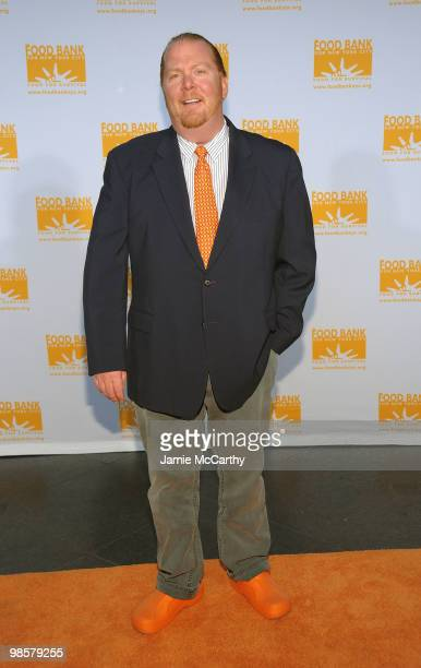 Chef Mario Batali attends the Food Bank for New York City's 8th Annual CanDo Awards dinner at Abigail Kirsch�s Pier Sixty at Chelsea Piers on April...