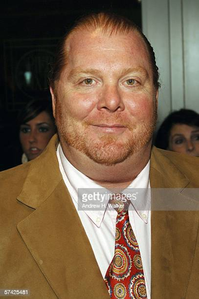 Chef Mario Batali attends the Food Bank for New York City's Annual CanDo Awards Gala on April 25 2006 in New York City