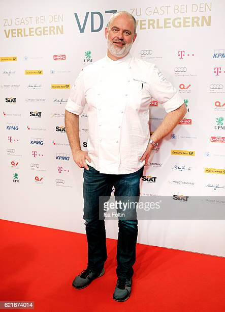 Chef Markus Semmler during the VDZ Publishers' Night 2016 at Deutsche Telekom's representative office on November 7 2016 in Berlin Germany