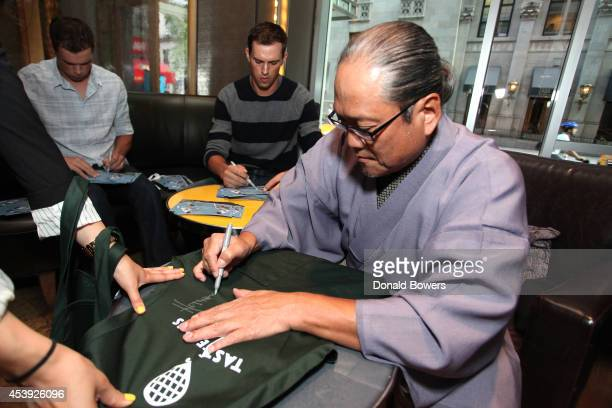 Chef Masaharu Morimoto attends Taste Of Tennis Week Taste Of Tennis Gala at the W New York on August 21 2014 in New York City