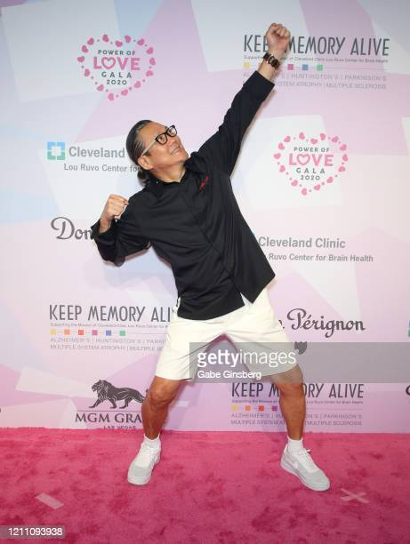 Chef Masaharu Morimoto attends the 24th annual Keep Memory Alive Power of Love Gala benefit for the Cleveland Clinic Lou Ruvo Center for Brain Health...