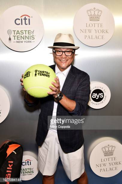 Chef Masaharu Morimoto attends the Citi Taste Of Tennis gala on August 23 2018 in New York City