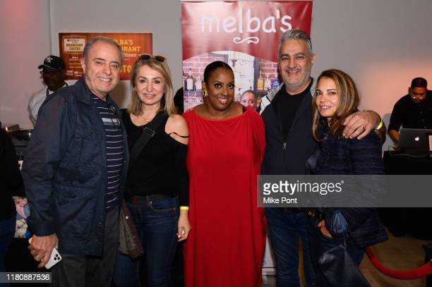 Chef Melba Wilson meets with guests at Four Roses Bourbon's Broadway Tastes presented by iHeartRadio Broadway hosted by Alex Brightman with special...