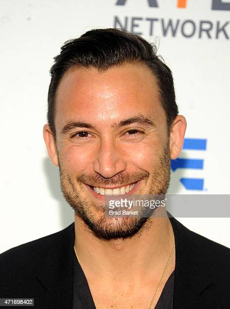 Chef Michael Chernow attends 2015 AE Networks Upfront on April 30 2015 in New York City