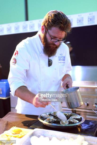 Chef Michael Cimarusti at the AllStar Chef Classic Grill And Chill Presented By dineLA And Stella Artois at LA LIVE on March 22 2014 in Los Angeles...