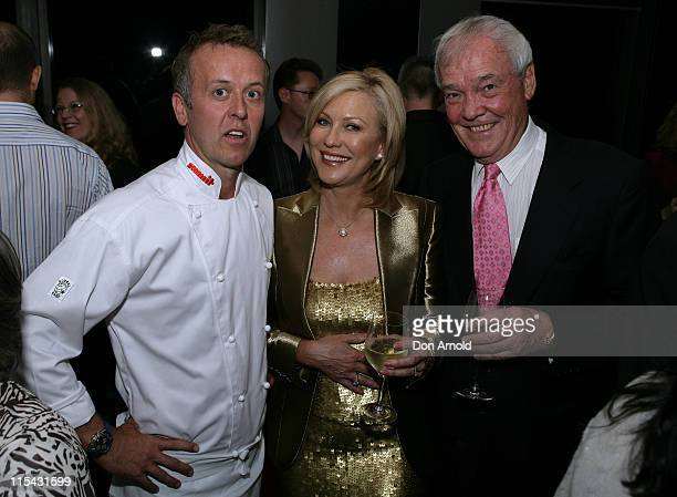 Chef Michael Moore with John Kennerley and KerriAnne Kennerley
