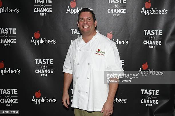 Chef Michael Slavin attends Applebee's Hosts Taste the Change Fest in Times Square introducing New Menu on May 13 2015 in New York City