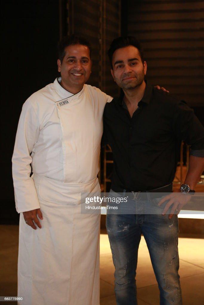 Chef Michael Swamy With Vikas Kohli Brother Of Virat Kohli