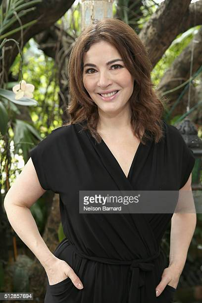 Chef Nigella Lawson attends a Brunch Hosted By Nigella Lawson during 2016 Food Network Cooking Channel South Beach Wine Food Festival Presented By...