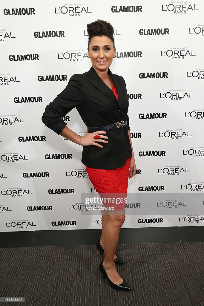 Glamour And L'Oreal Paris Celebrate 2014 Top Ten College Women : News Photo