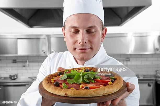 Le Chef propose de la pizza