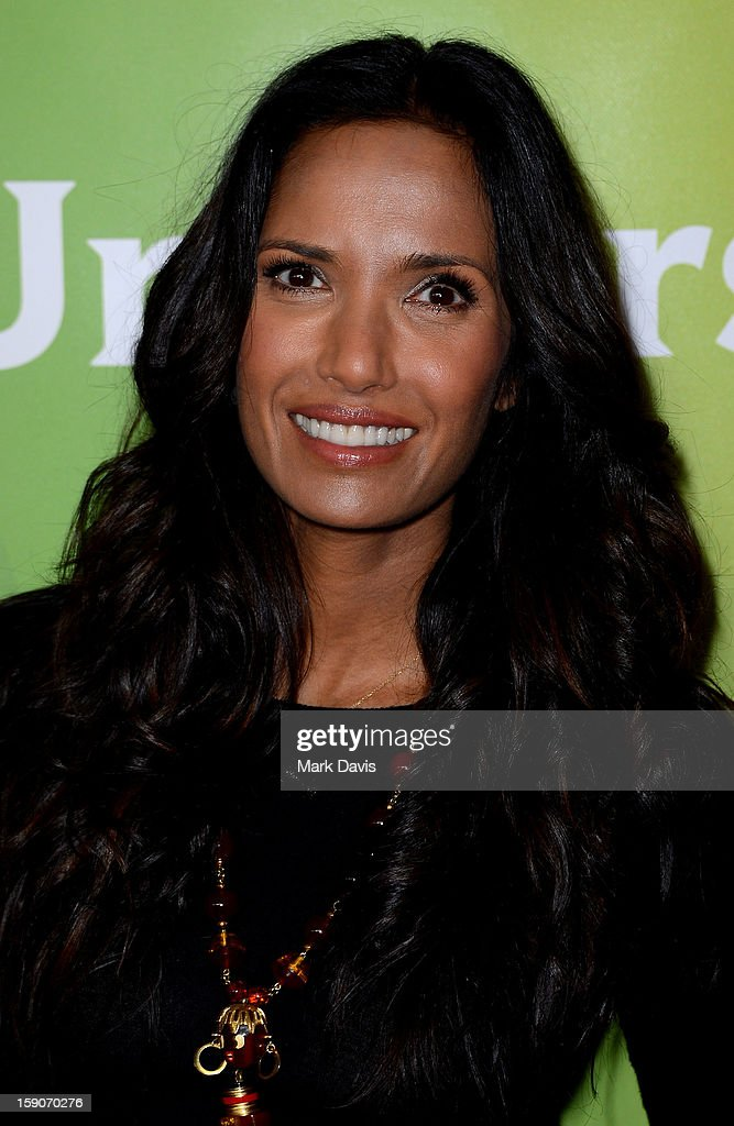 Chef Padma Lakshmi attends the 2013 TCA Winter Press Tour NBC Universal Day 2 at The Langham Huntington Hotel and Spa on January 7, 2013 in Pasadena, California.