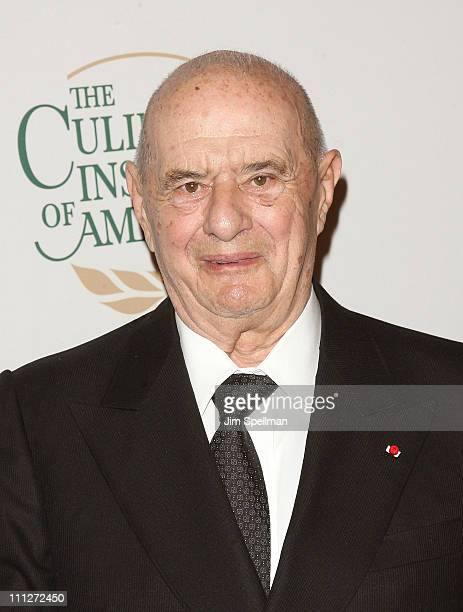 Chef Paul Bocuse attend the Culinary Institute of America's 2011 Augie Awards at The New York Marriott Marquis on March 30 2011 in New York City