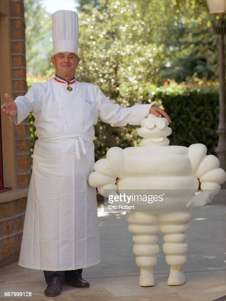Chef Paul Bocuse with Bibendum