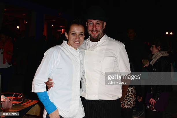 Chef Paula DaSilva attends Thrillist's BBQ The Blues hosted by Anne Burrell during the 2015 Food Network Cooking Channel South Beach Wine Food...