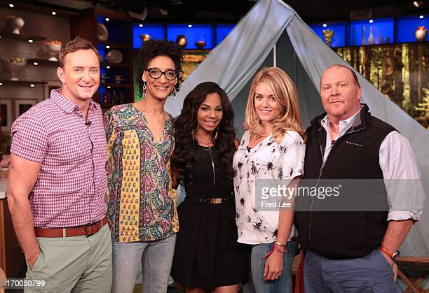 THE CHEW Chef Paula Deen and actress/singer Ashanti visit The Chew today June 5 2013 The Chew airs MONDAY FRIDAY on the Walt Disney Television via...