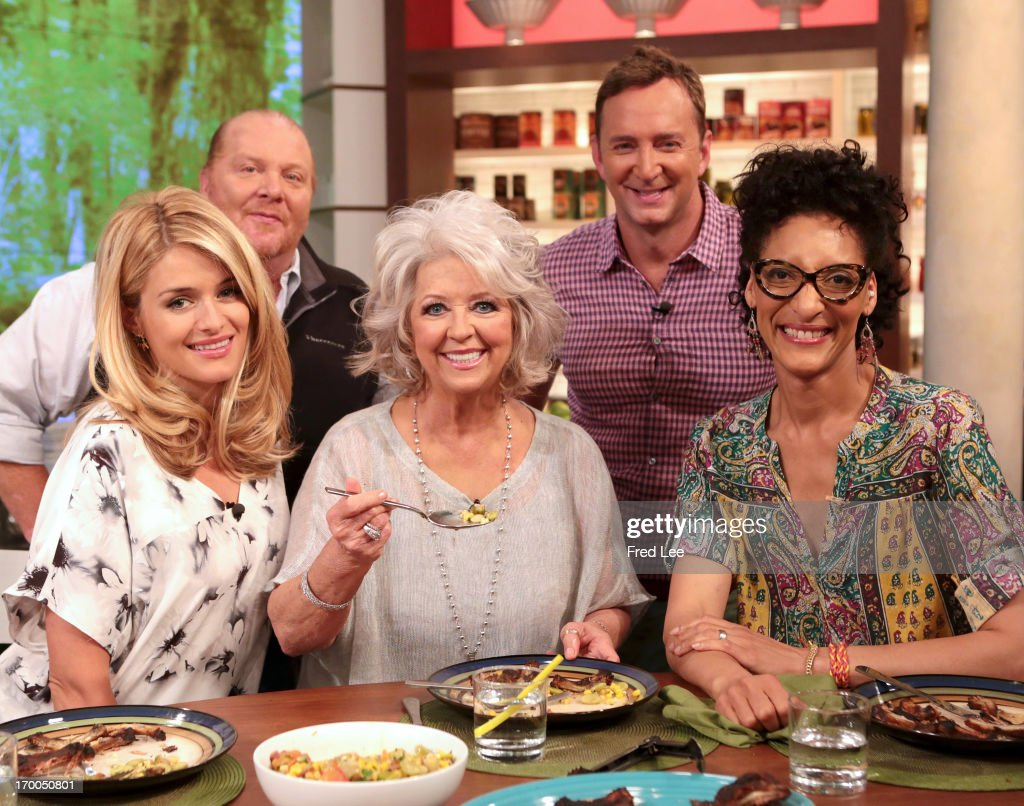 THE CHEW - Chef Paula Deen and actress/singer Ashanti visit 'The Chew' today June 5, 2013. 'The Chew' airs MONDAY - FRIDAY (1-2pm, ET) on the ABC Television Network. HALL